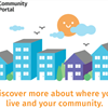 Community-Portal Graphic with Tagline