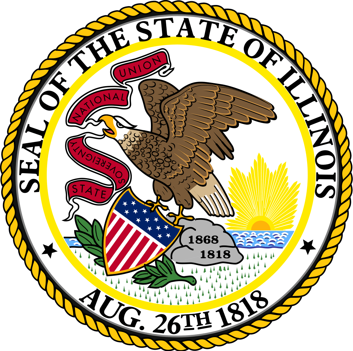 Seal of State of Illinois