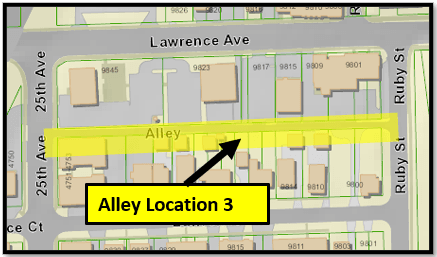 Alley Location 3